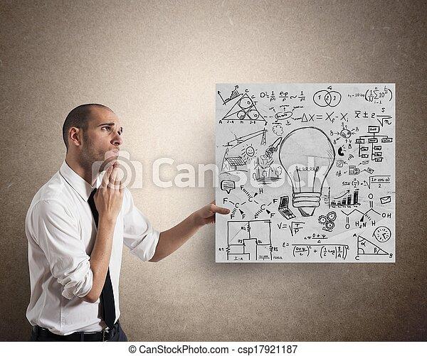 idee, geschaeftswelt, kreativ - csp17921187