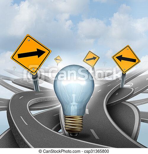 idee, strategico - csp31365800