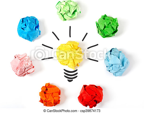 Elige la mejor idea - csp39874173