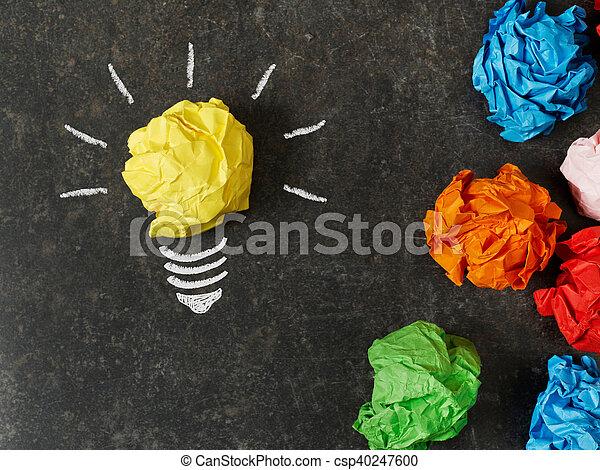 Eligiendo la mejor idea - csp40247600