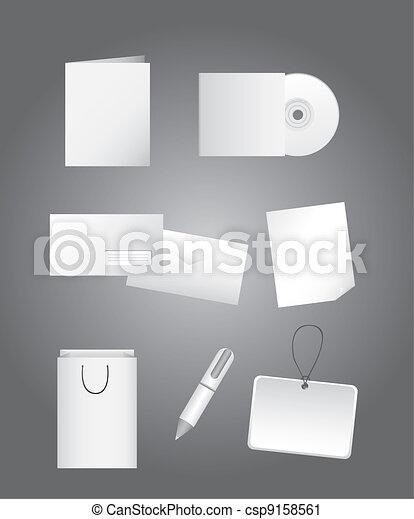 Identidad corporativa - csp9158561