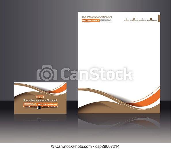 Identidad corporativa de estudio de fotografía - csp29067214