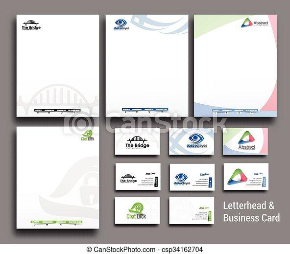 Planta de identidad corporativa - csp34162704