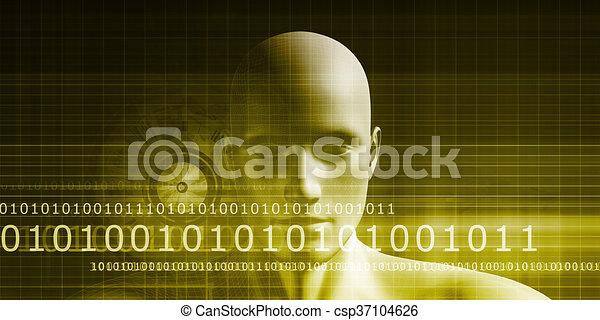 identiteit, digitale  - csp37104626