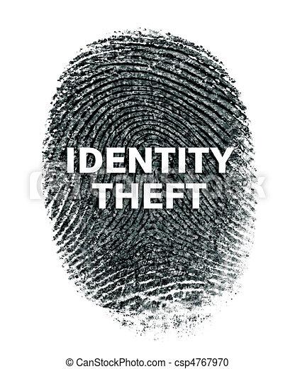 Identity Theft - csp4767970