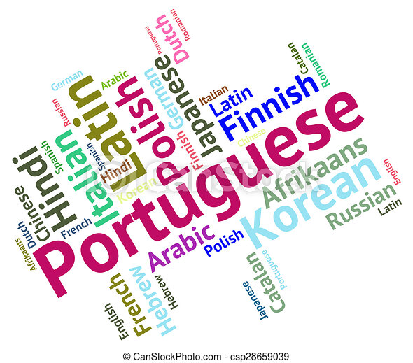 Idioma Portugues Portugal Dialecto Comunicacion Representa