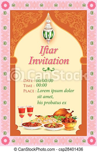 Easy to edit vector illustration of iftar party background iftar party background csp28401436 stopboris Image collections