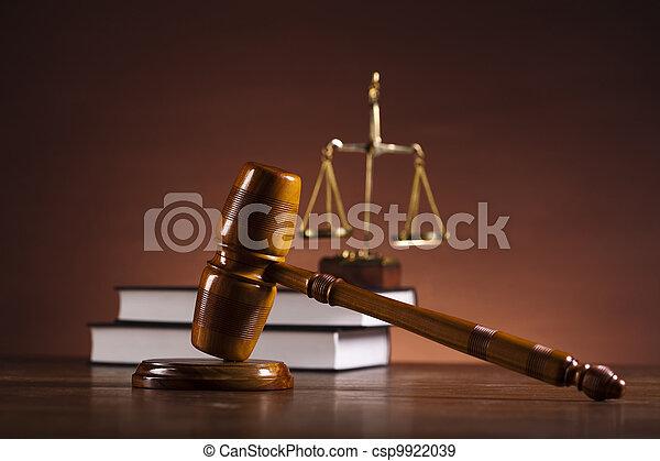 igazságosság, törvény - csp9922039