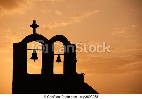 iglesia griega - csp3693258