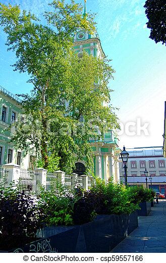 Torre Bell de la Iglesia Ortodoxa en Moscú - csp59557166