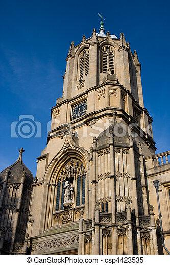 Iglesia de Cristo, Oxford - csp4423535