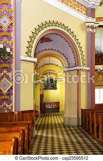 En la iglesia - csp23595512