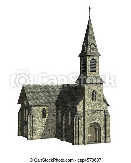 iglesia - csp4570607