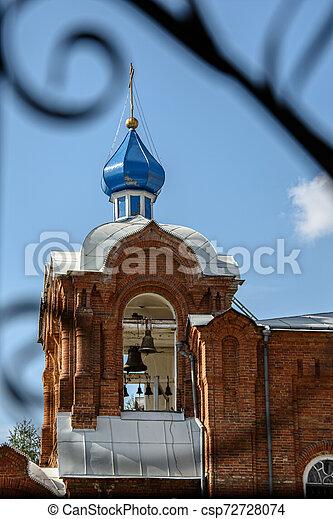 Torre Bell de la Iglesia Ortodoxa - csp72728074
