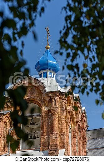 Torre Bell de la Iglesia Ortodoxa - csp72728076