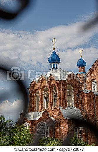 Torre Bell de la Iglesia Ortodoxa - csp72728077