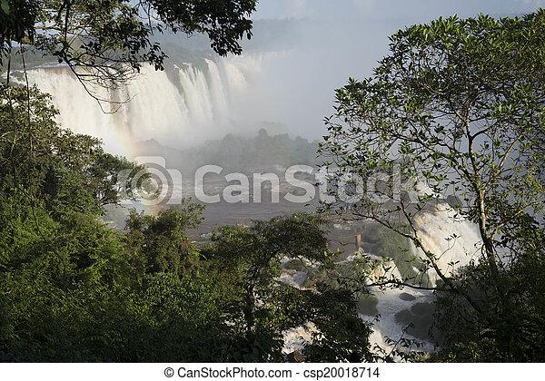 Iguacu Falls - csp20018714