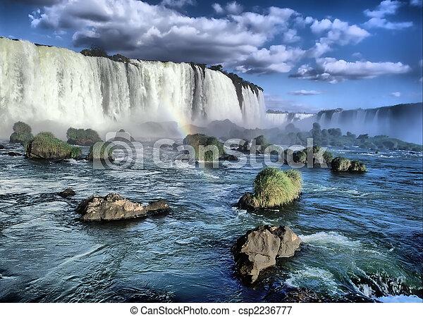 Iguacu falls - csp2236777
