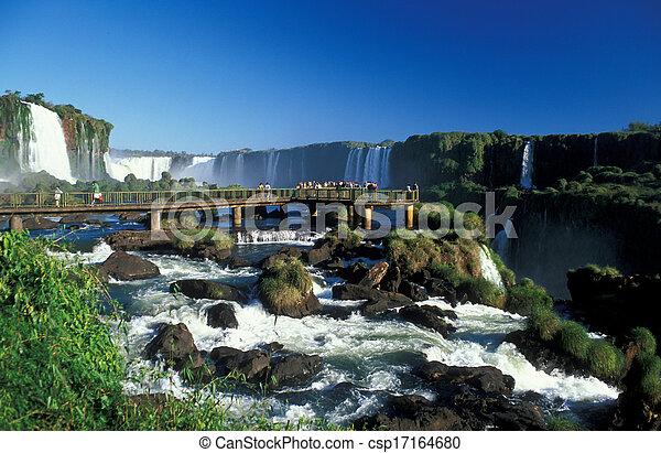 Iguacu Falls - csp17164680