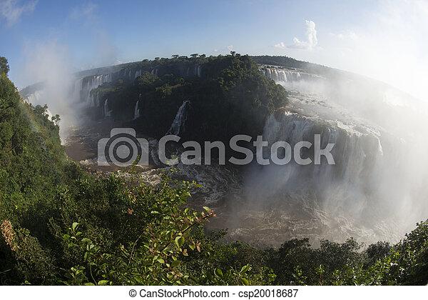 Iguacu Falls - csp20018687