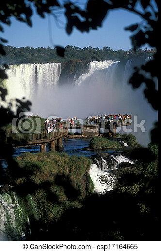 Iguacu Falls - csp17164665