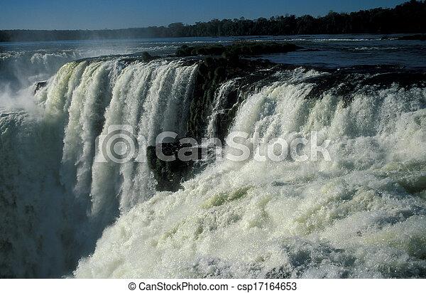 Iguacu Falls - csp17164653