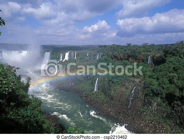 Iguacu falls - csp2210462