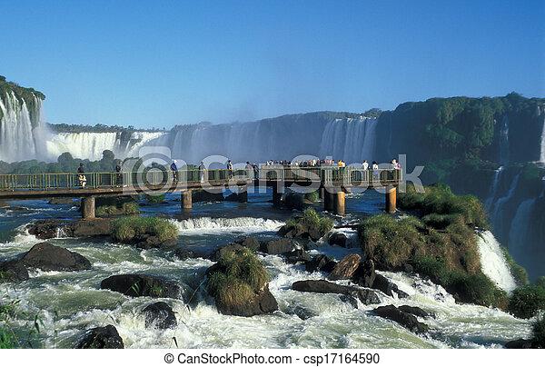 Iguacu Falls - csp17164590