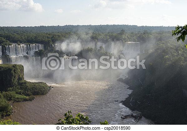 Iguacu Falls - csp20018590