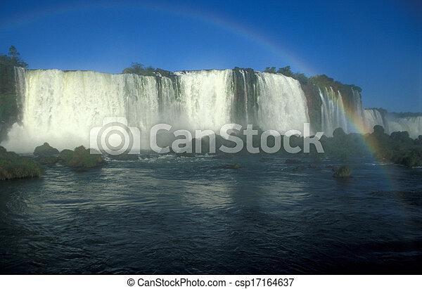 Iguacu Falls - csp17164637