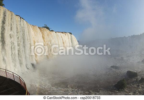 Iguacu Falls - csp20018733