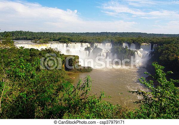 Iguacu panorama - csp37979171