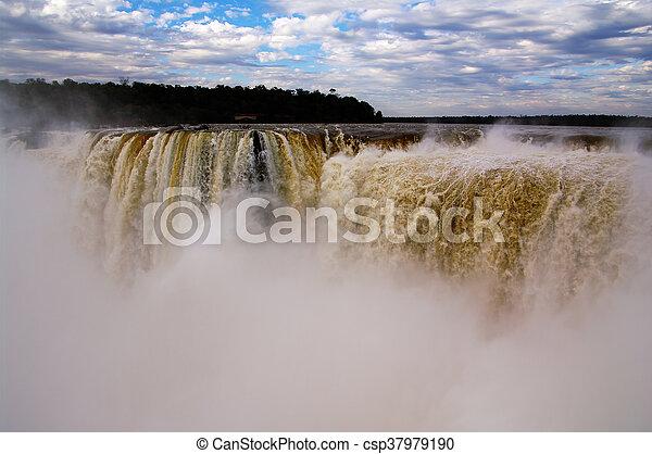 Iguacu Waterfalls - csp37979190