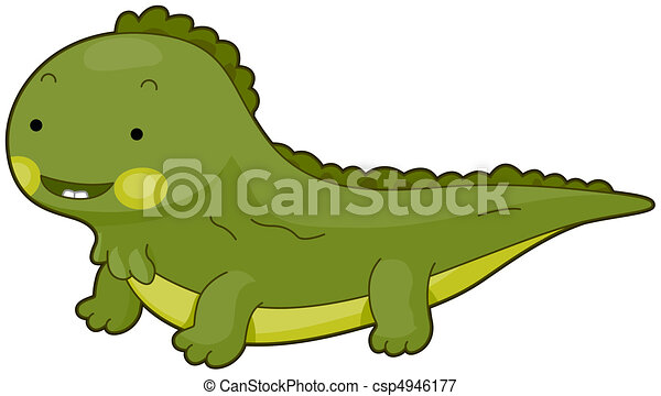 illustration of a cute iguana flashing a toothy smile stock rh canstockphoto com