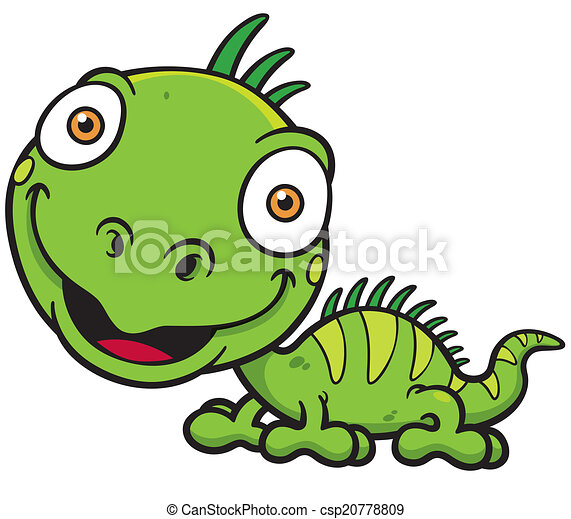 vector illustrations of cartoon green iguana vector clipart search rh canstockphoto com iguana clipart black and white iguana clipart