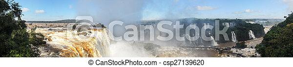 Iguassu Falls - Brazil - csp27139620