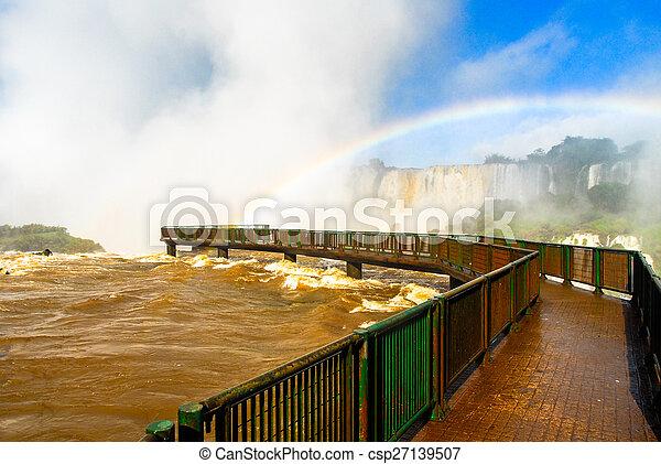 Iguassu Falls - Brazil - csp27139507