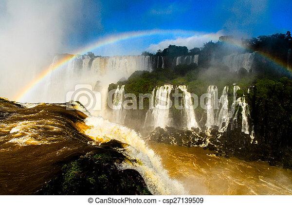 Iguassu Falls - Brazil - csp27139509
