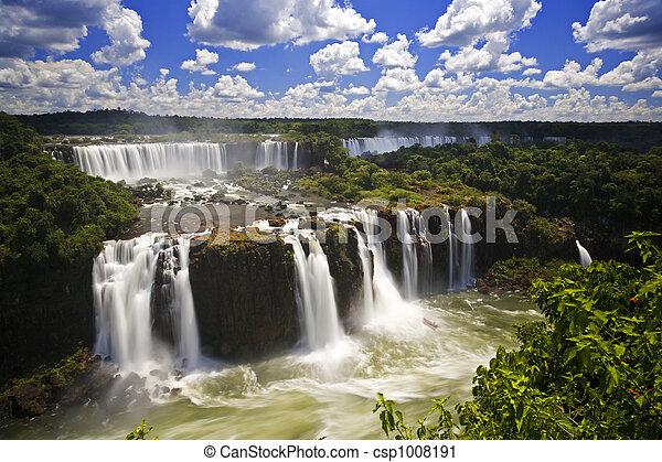 Iguassu Falls - csp1008191