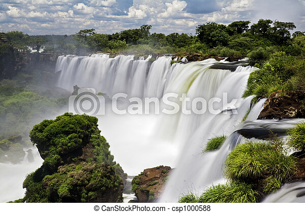 Iguassu Falls - csp1000588