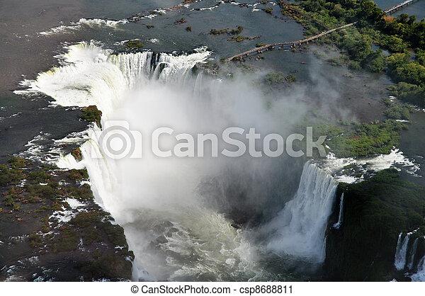 Iguazu Falls Argentina - csp8688811