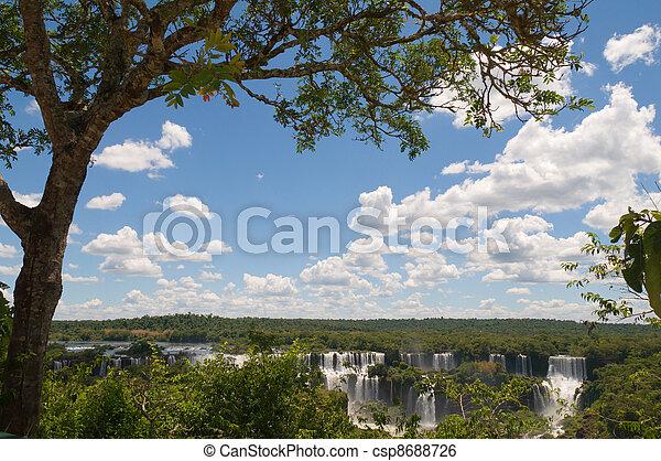 Iguazu Falls Argentina - csp8688726
