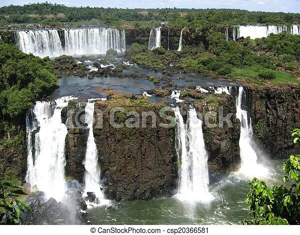 Iguazu Falls, Brazil, South America - csp20366581