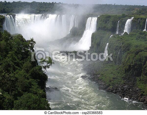 Iguazu Falls, Brazil, South America - csp20366583
