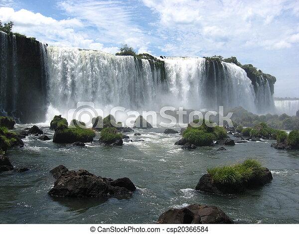 Iguazu Falls, Brazil, South America - csp20366584