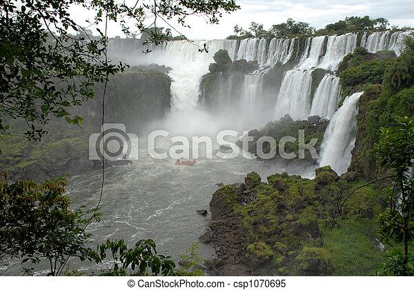 Iguazu waterfalls - Argentina - csp1070695