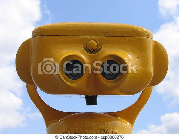 ii, kijker, gele - csp0006276