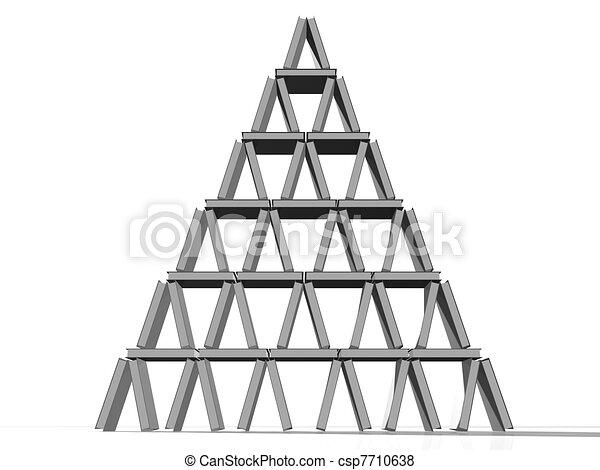 ii, torre, libri - csp7710638