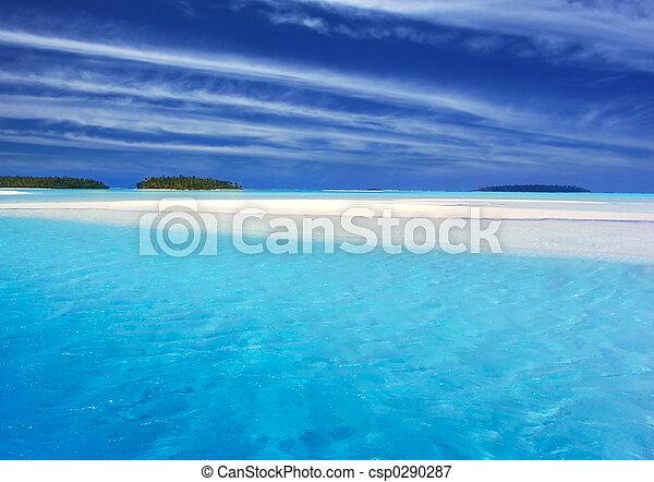 ii, turchese, laguna - csp0290287