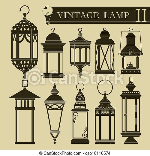 Vintage Lampe II - csp16116574